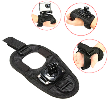 360 Degrees Wrist Band Arm Strap Belt Tripod Mount for GoPro Hero 4 3+ 3 2 Camera Fist Adapter Band Case for Go Pro Accessories 1