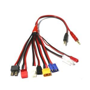 Image 3 - HTRC 19 in 1 şarj kabloları ve 8 1 kabloları IMAX B6 şarj RC parça Lipo pil çok şarj fişi dönüştürme kablo hattı