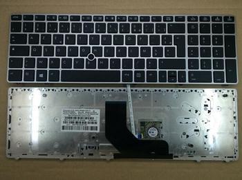 Teclado para HP EliteBook 8560p 8570p ProBook 6560b 6565b francés/belga/suizo/Árabe/griego/Turco/croata/serbio/esloveno