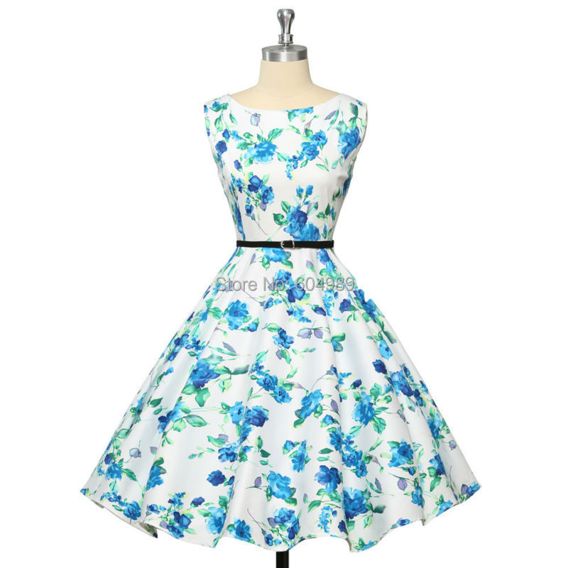 Grace Karin Womens Cocktail Dresses Summer style Floral Print ...