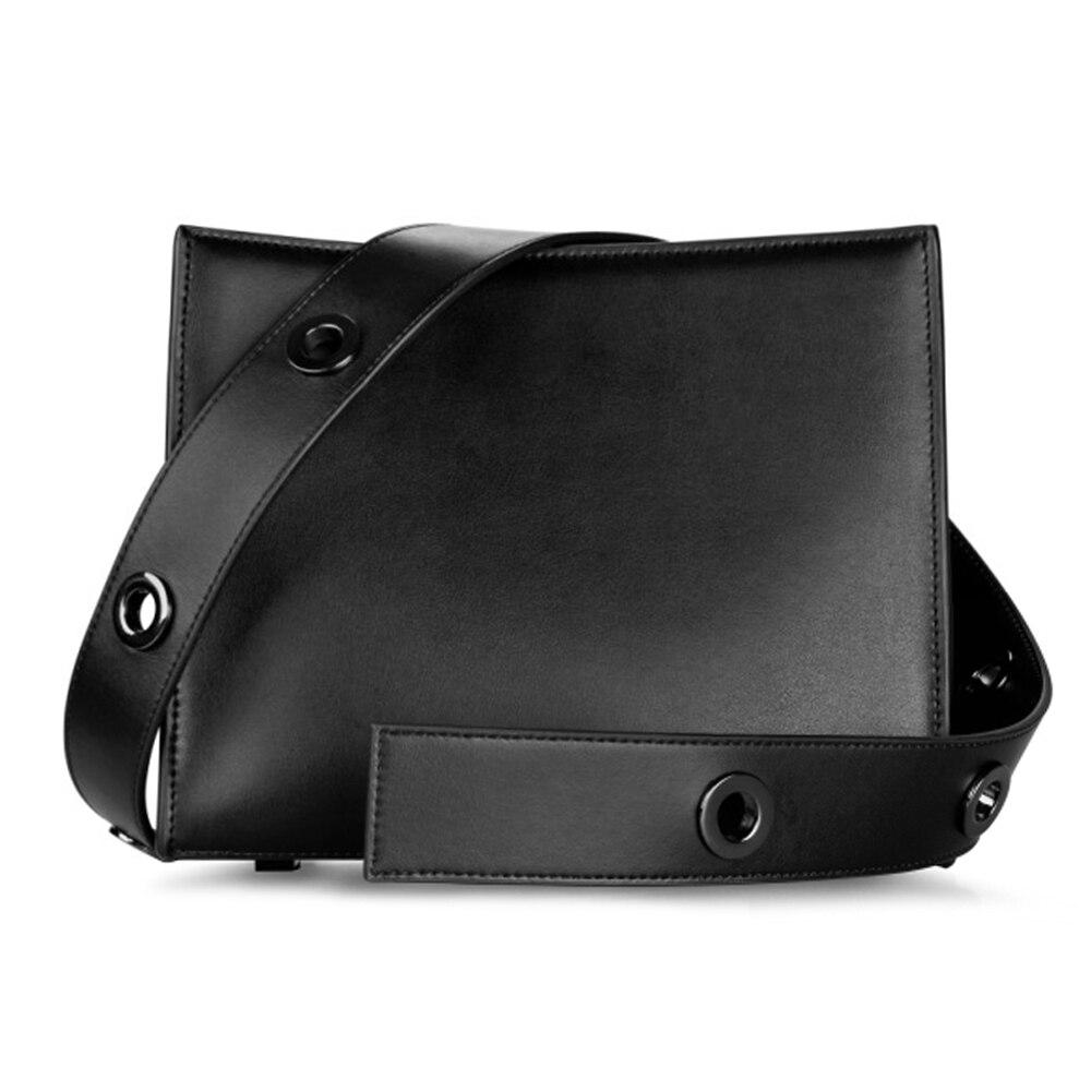 ZOEY noir unique sac à bandoulière pour banlieue également femmes sac à main