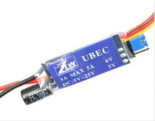 Superior Hobby ZTW external UBEC 12A ESC support 3A 6A 2 12S in BEC special lithium