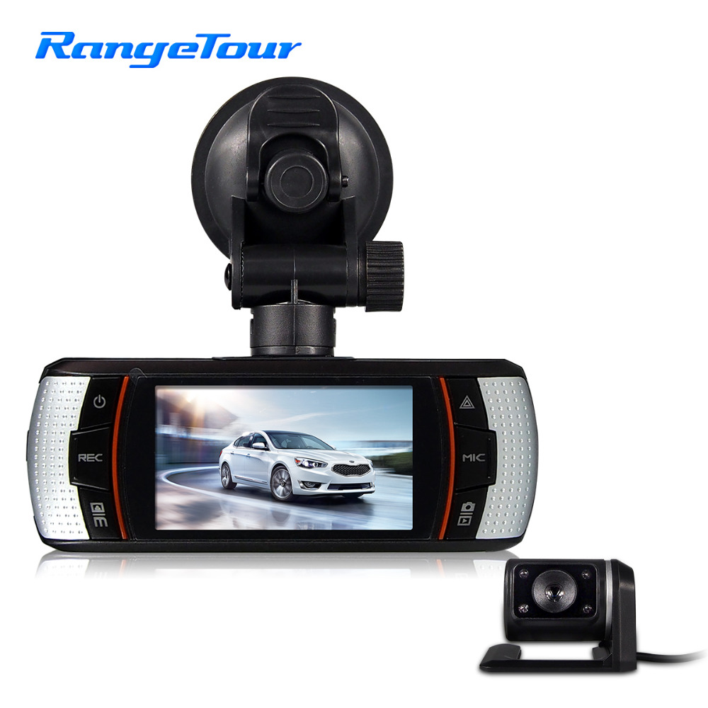 Range Tour Car DVR A1 Front and Rear Camera Dual lens Driving Video Recorder Dash cam