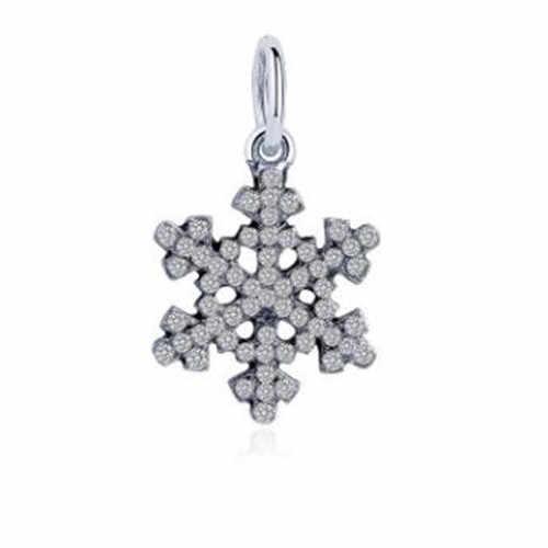 Европейский кристалл полый Снежинка Кошка Луна Звезда Микки Маус бусины-сердечки Fit Pandora Подвески бусины для женщин DIY ювелирные изделия
