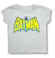 Batman Đau Khổ Cổ Điển Màu Vàng Logo Xám Trẻ Sơ Sinh Bé Áo Sơ Mi T Mới Chính Thức