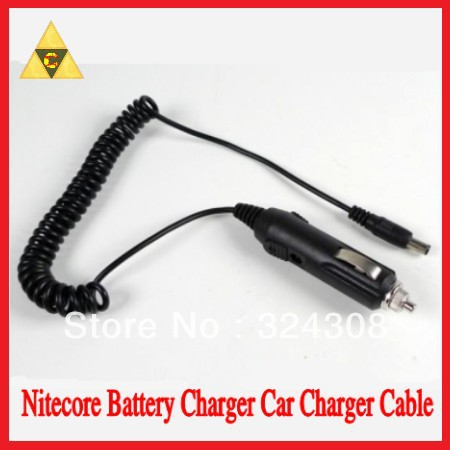 Free Shipping + 1PC <font><b>Nitecore</b></font> <font><b>I4</b></font> <font><b>Charger</b></font> <font><b>Nitecore</b></font> Battery <font><b>Charger</b></font> Car Charge Cable for <font><b>Nitecore</b></font> <font><b>Charger</b></font> DC 12V Car Adapter Cable