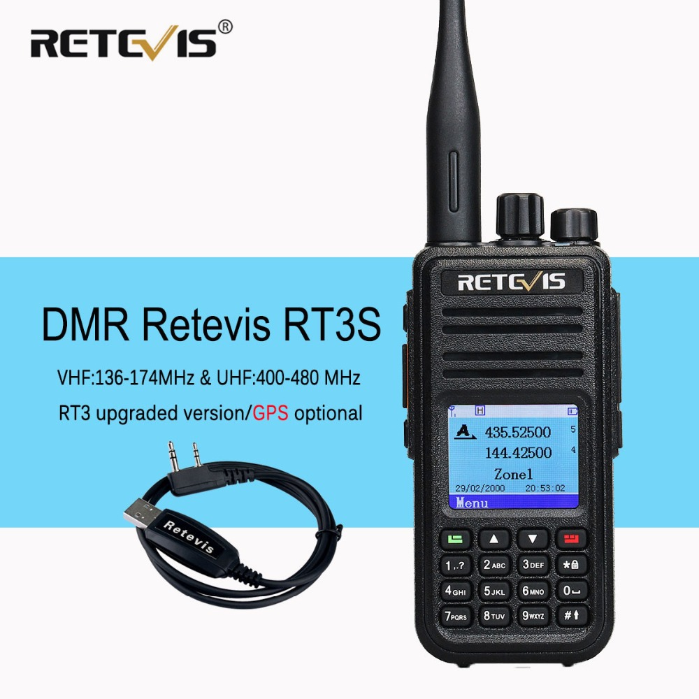 Retevis Rt3s Dmr Digital Walkie Talkie Gps Dual Band Vhf Uhf Ham Rhaliexpress: Ham Radio Gps At Gmaili.net