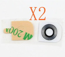 2 X Rear Back Camera Lens +Adhesive Parts For LG G2 D802 D800 D801 G3 G4 G5 G6 V20 V30 Original Glass Lens Cover