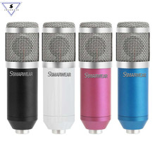 New BM-800 Professional Condenser Microphone Kit Microphone For Computer+Shock Mount+Foam Cap+Cable As BM 800 Microphone BM800 цена
