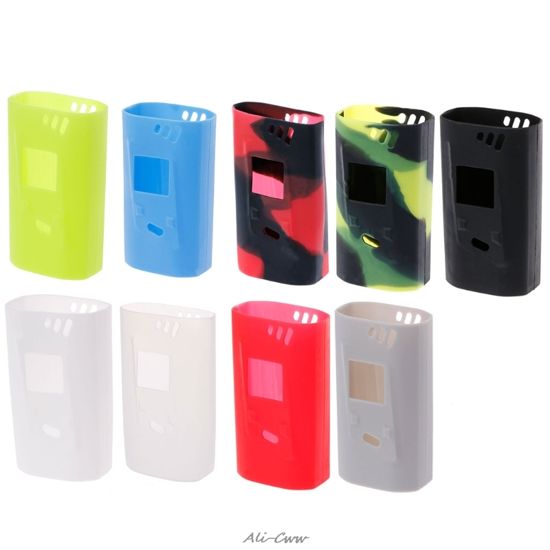 Soft Silicone Sleeve Case Protective Skin Cover For Smok Alien Kit 220W Box Mod