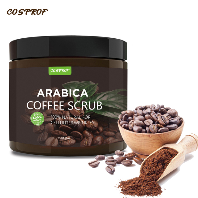 Cosprof Coffee Exfoliating Body Scrub  1