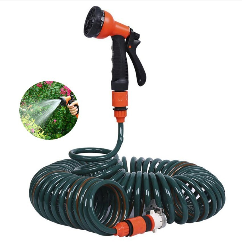 10/15/20m Car Wash Water Gun High Pressure Spray Gun Home Garden Water Gun  Flexible Expandable Nozzle Spring Hose Set10/15/20m Car Wash Water Gun High Pressure Spray Gun Home Garden Water Gun  Flexible Expandable Nozzle Spring Hose Set