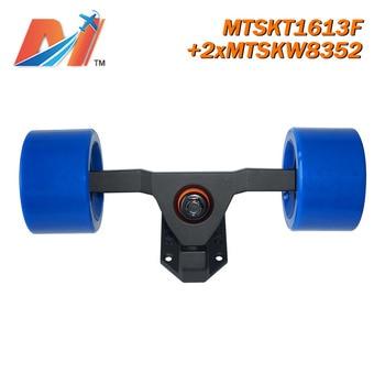 Maytech 83mm PU wheels rubber wheel skateboard longboard wheel and truck MTSKT1613F (3pcs)