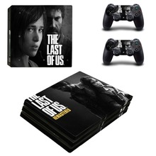 The Last of Us PS4 Pro Skin Sticker Decal for Sony PlayStation 4 Console and Controller Vinyl