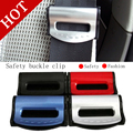 Free shipping 2pcs/set Car Seat Belts Clips Safety Adjustable Stopper Buckle Plastic Clip High Quality
