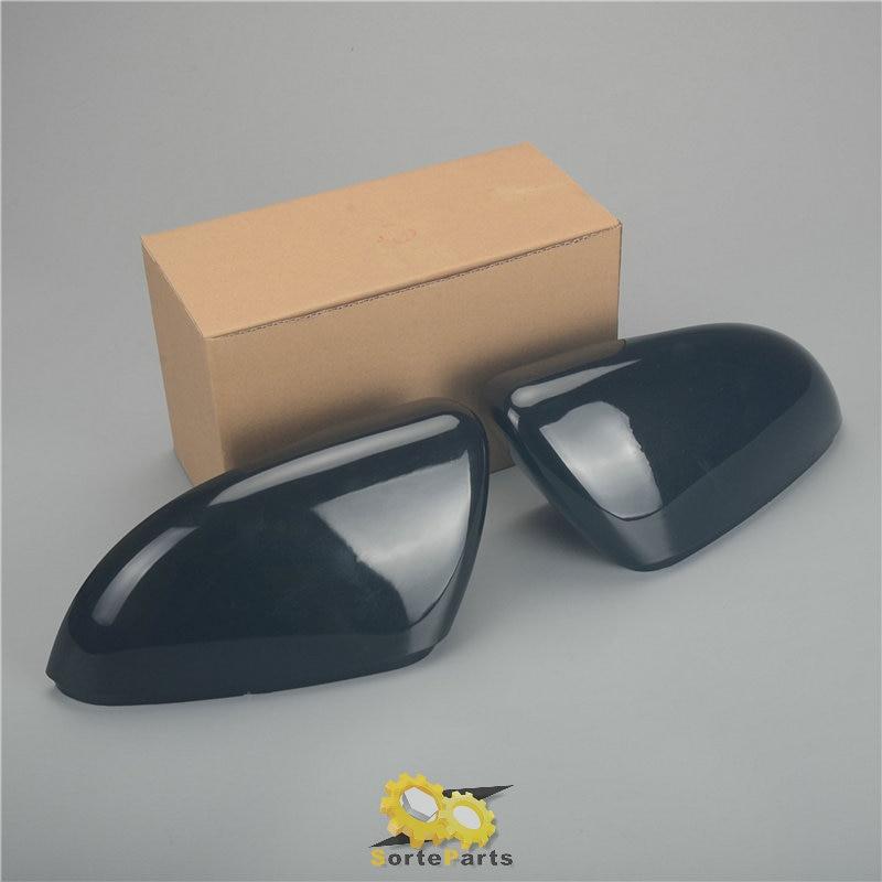 A Pair Wing Mirror Cover Trim Cap Gloss Bright Black For Vw Golf Gti Mk6 Touran 5k0 857 537 5k0 857 538 Wing Mirror Cover Wing Mirrormirror Caps Aliexpress