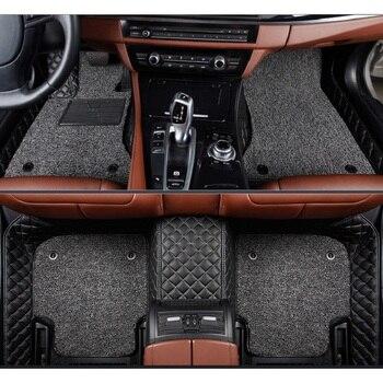 Car Floor Mat For LEXUS ES GS GX LX NX RX LS600H LS430 LS460 LS460L LS350 LS500H IS200 IS250  IS300H IS350 Car Styling Carpets