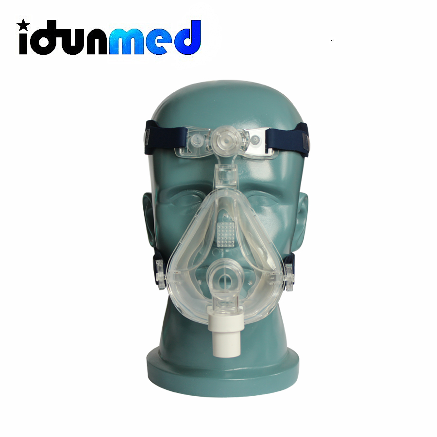 Adjustable Head Gear : Idunmed cpap machine mask full face with adjustable