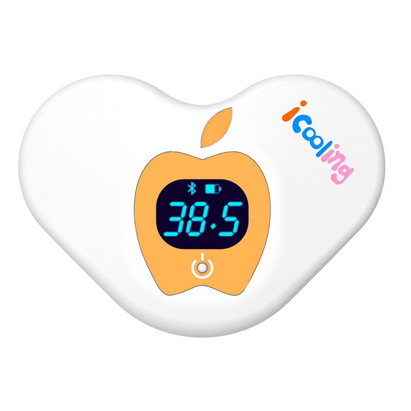 Unlimited Use Wearable Smart Thermometer 24/7 Monitoring Medical Grade Bluetooth Baby Thermometer with Mobile Alerts free shipping new children akara intelligent wearable electronic thermometer bluetooth smart baby monitor household thermometer