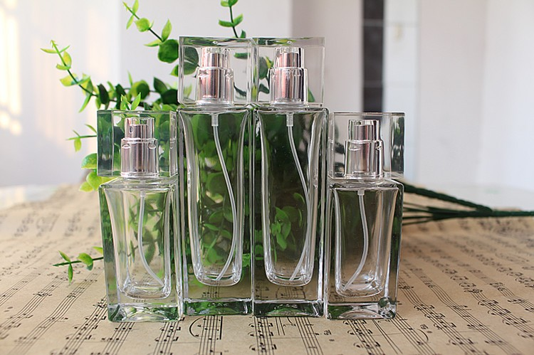 5PCS/LOT 30ML 50ml Practical Glass Refillable Perfume Bottle With Metal Spray &Empty Packaging Case With Free Shipping 5 10ml 5 10 15 20 30pcs empty glass refillable portable mini perfume bottle