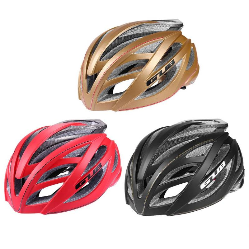 GUB Bicycle Helmet Integrated Carbon Fiber Mountain Road Bike Riding Helmet Riding Hat Cycling Equipment
