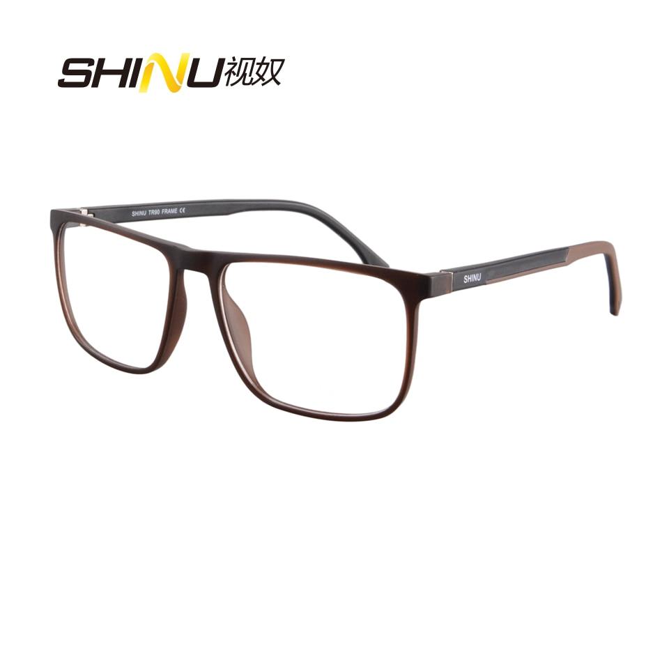 Anti glare Multifocal Progressive Reading Glasses See Near Far Diopter Eyeglasses UV400 Antifatigue Reader For Near