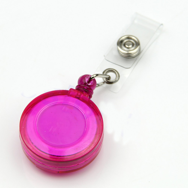 Retractable Badge Holders 10 pcs Set