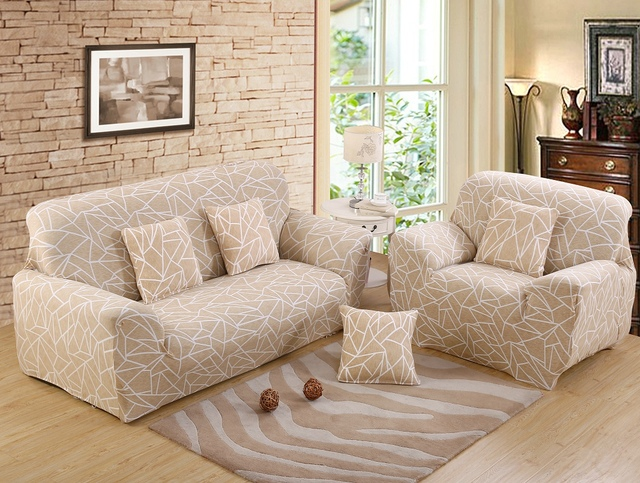 Monily Modern Anti Dirty Sofa Cover Spandex All Inclusive Cubre Wrap Slipcovers