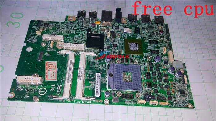 DB SL611 003 FOR font b Acer b font Aspire 7600U 27 AIO Motherboard WITH GT640M