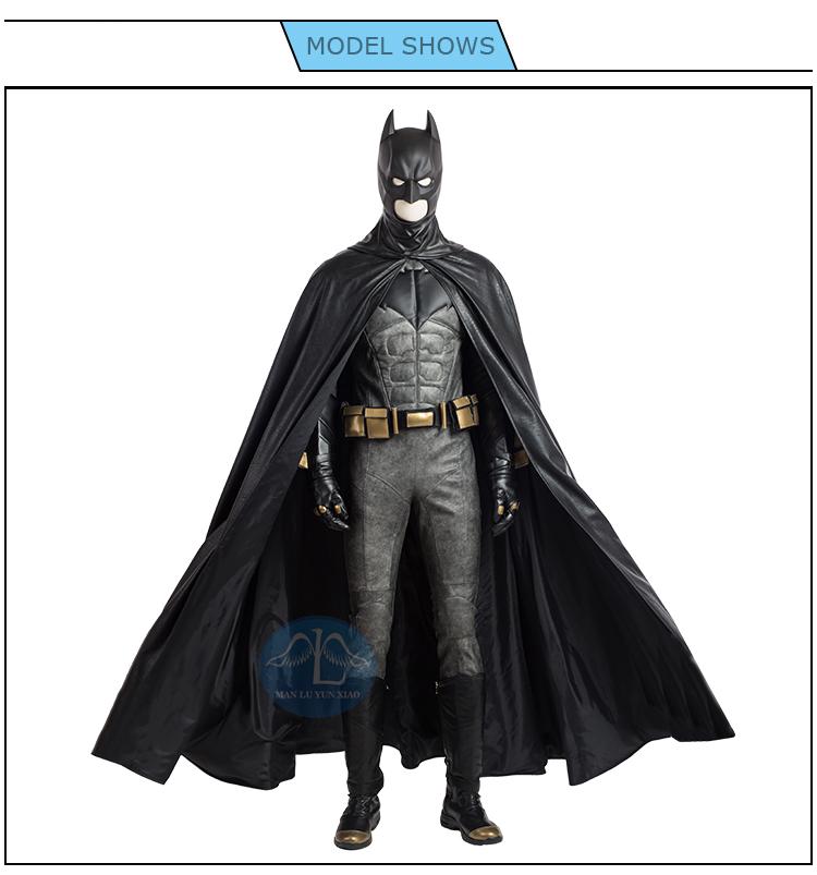 traje para cosplay de batman
