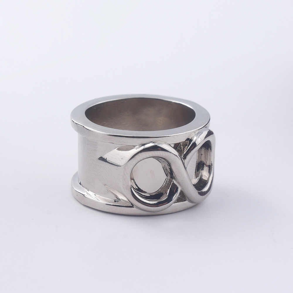Adjustable Silver Time Ring Dragon Ball Z Cosplay Super Zamasu Silver Goku Time Ring for Boy Girl