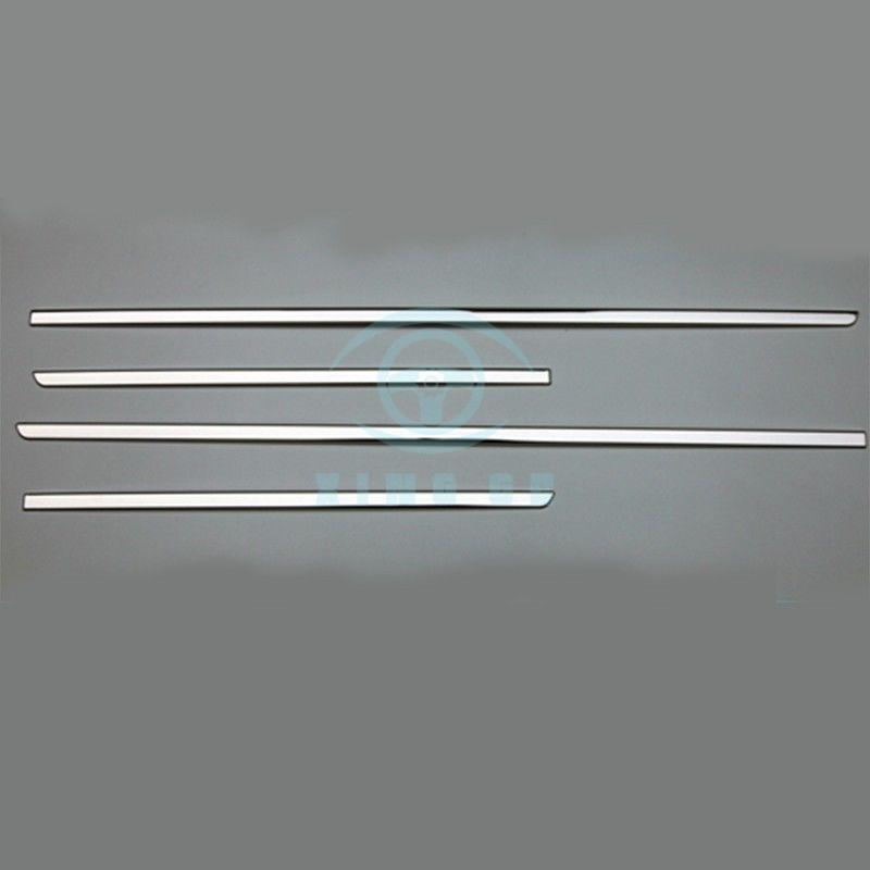 stainless steel for BMW X3 F25 11-16 door sills plate trim moulding bar plate