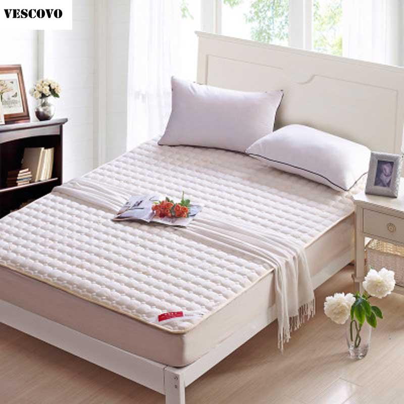 VESCOVO Active Cotton mattress sleeping mat plushed mattresses queen twin size