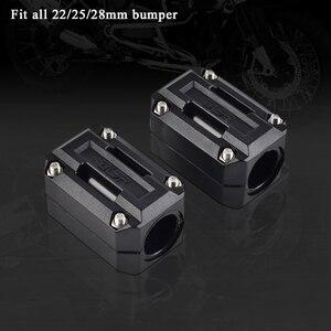 22/25/28m Engine Guard Protection Bumper Decor Block For BMW R1200 HP2 S1000XR R NineT G310 GS R 1150gs 1200gs F 800gs Adventure
