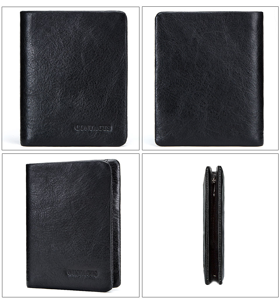 Details about Men's Wallets Genuine Leather Wallet For Man Credit Card Holder Casual Man Short