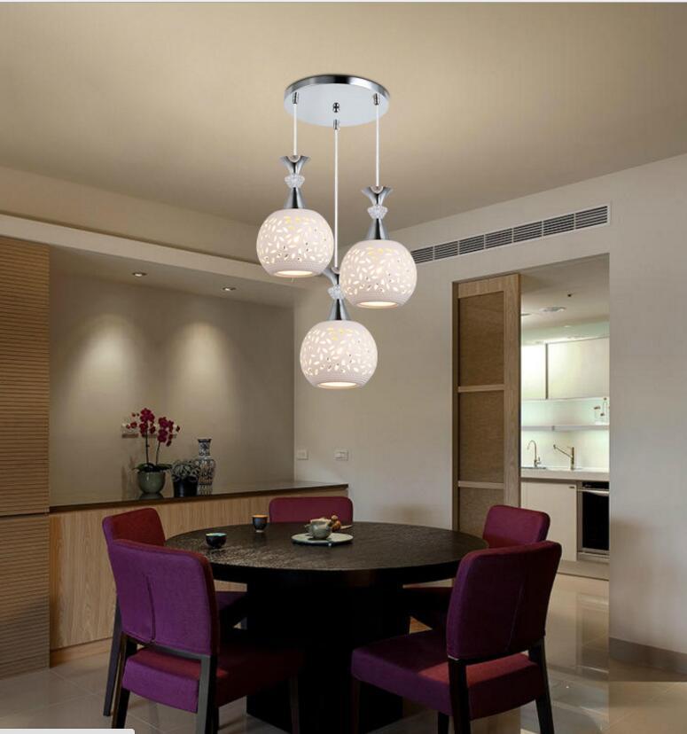 фото подвесных люстр над обеденным столом пирожки