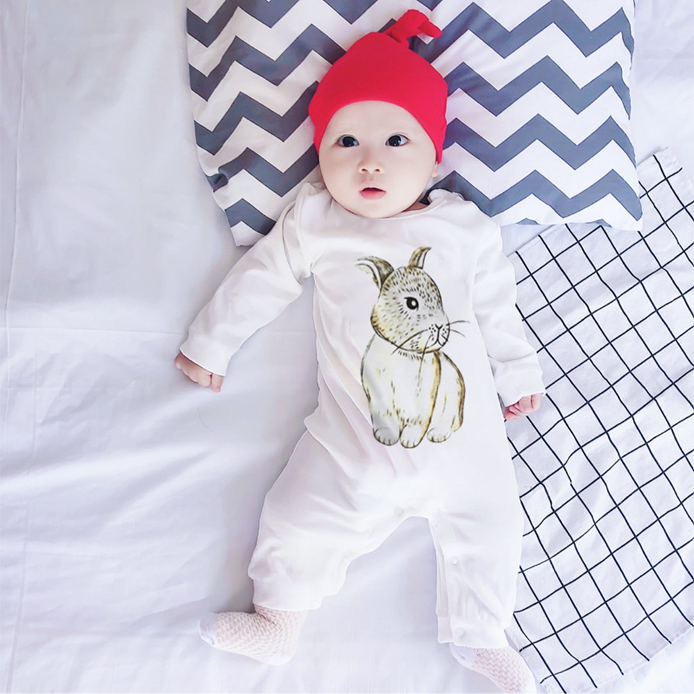 New Newborn Baby Boys Girls Casual New Rabbit Bunny   Romper   Warm Winter Long Sleeve Casual Cotton Jumpsuit Autumn Clothes Outfits