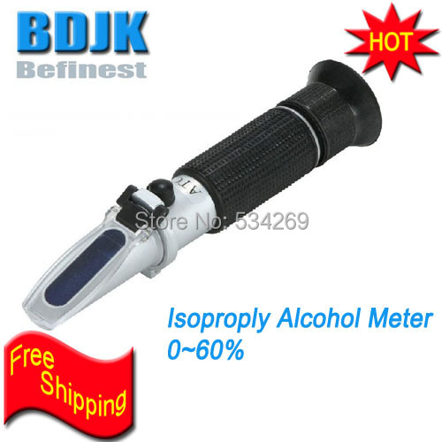 0~60% Hand Held Isopropyl Alcohol Refractometers Alcohol Meters Pen type Concentration Tester Free Shipping0~60% Hand Held Isopropyl Alcohol Refractometers Alcohol Meters Pen type Concentration Tester Free Shipping