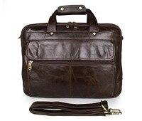 Top Layer Leather Top Grade Business Bag Three Layers Main Bag Design Genuine Leather Handbag