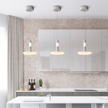 Koffie Shop Led Strip Hanger Lampen Voor Keuken Home Office Led Hanglampen Hanglamp Acryl Led Armatuur Opknoping Lampen