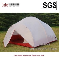 4 Person 4 Season Backpacking Tent, 20D Breathable Ripstop tent and Rainfly with PU2000 Silicon Coating, Aluminum Poles,