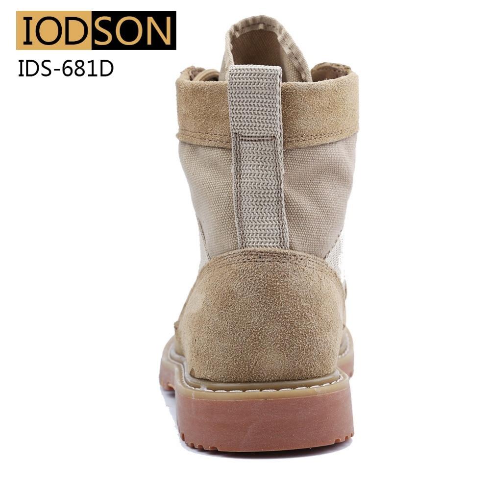 IDS-681D Vodootporne vojničke čizme Muškarci Vojne čizme - Muške cipele - Foto 4