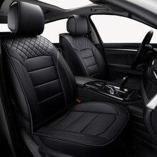 (קדמי + אחורי) עור אוניברסלי רכב מושב מכסה לסקודה ראפיד פאביה אוקטביה מעולה Yeti רכב אבזרים לרכב סטיילינג