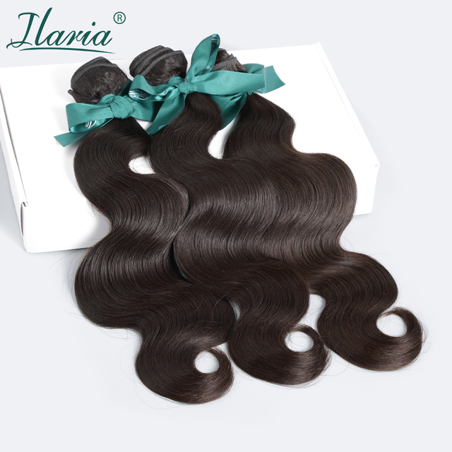 Rosa Hair Products Brazilian Virgin Hair Body Wave Grade 8A 100% Brazilian Hair Weave Bundles Unprocessed Human Hair Extension