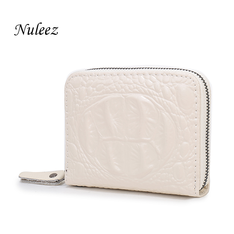 Nuleez Small Wallet Short Women Genuine Leather Coin Purse Ladies Zipper Fashion Business Wallet Women Clutch Card Holder 2401 frank buytendijk dealing with dilemmas where business analytics fall short
