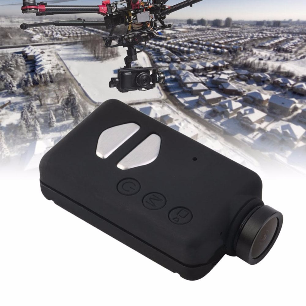 ActionCam Pocket Camcorder HD 1080P 30FPS 120 Degree Wide Angle Lens for FPV