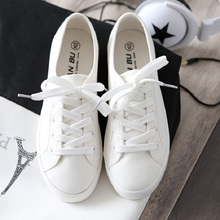Star Style Canvas Sneakers Women Casual Shoes White Sneakers Women Vulcanized Shoes Lace Up Flat Trainers Ladies summer Shoes