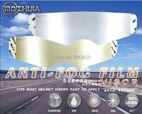 Exclusive first Permanent anti fog lens of high end helmets foil patch for arai sol sbk hjc helmets visor