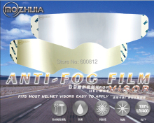 Exclusive first Permanent anti-fog lens of high-end helmets foil patch for arai sol sbk hjc helmets visor