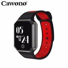 Cawono CW4 Smart Band Приборы для измерения артериального давления Мониторы наручные часы Шагомер Беспроводные устройства Смарт-браслет для Для мужчин женщина PK m2 Bluetooth